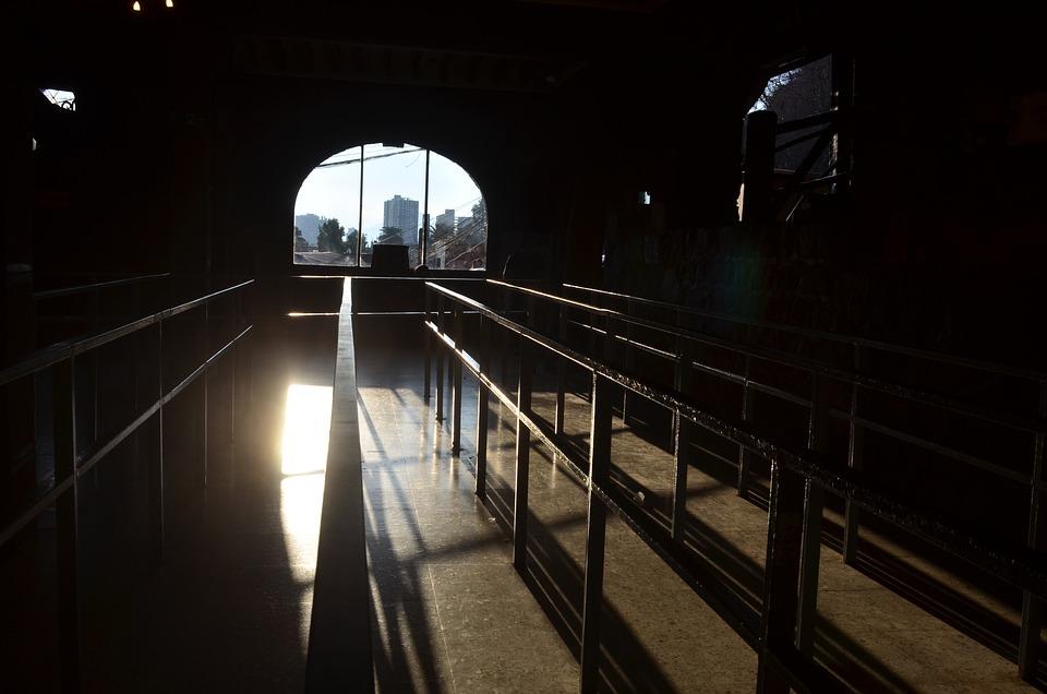 Shadow, Sunset, Against Light