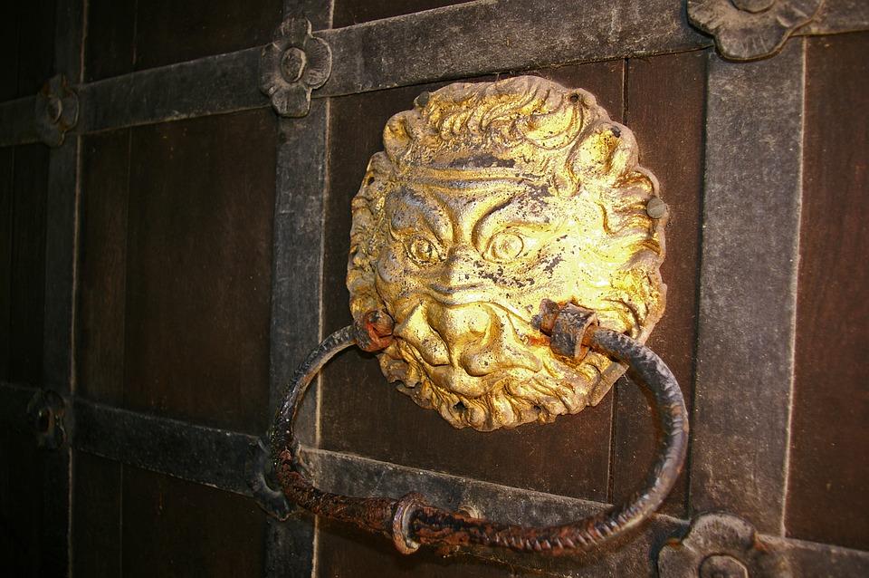 Door Handle, Age Handle, Old Door, Handle, Old, Input