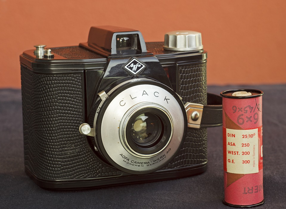 Camera, Made In Germany, Agfa Clack, Roll Film