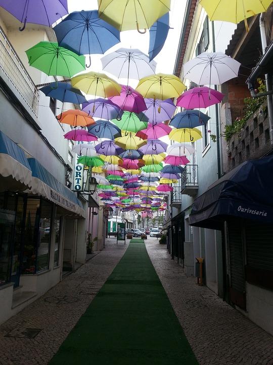 Umbrella, águeda, Agitagueda