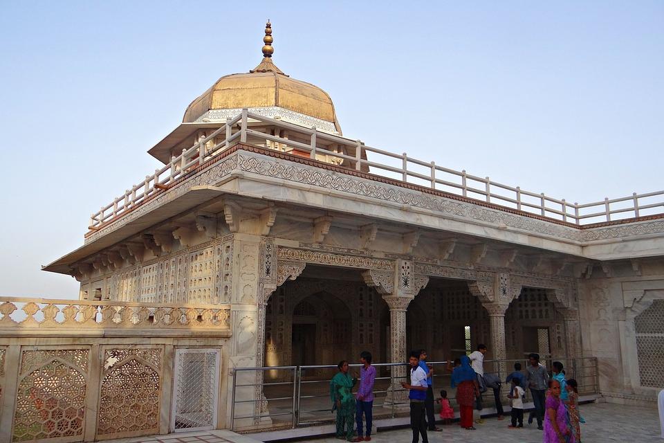 Agra Fort, Musamman Burj, Mughals, Architecture, Palace