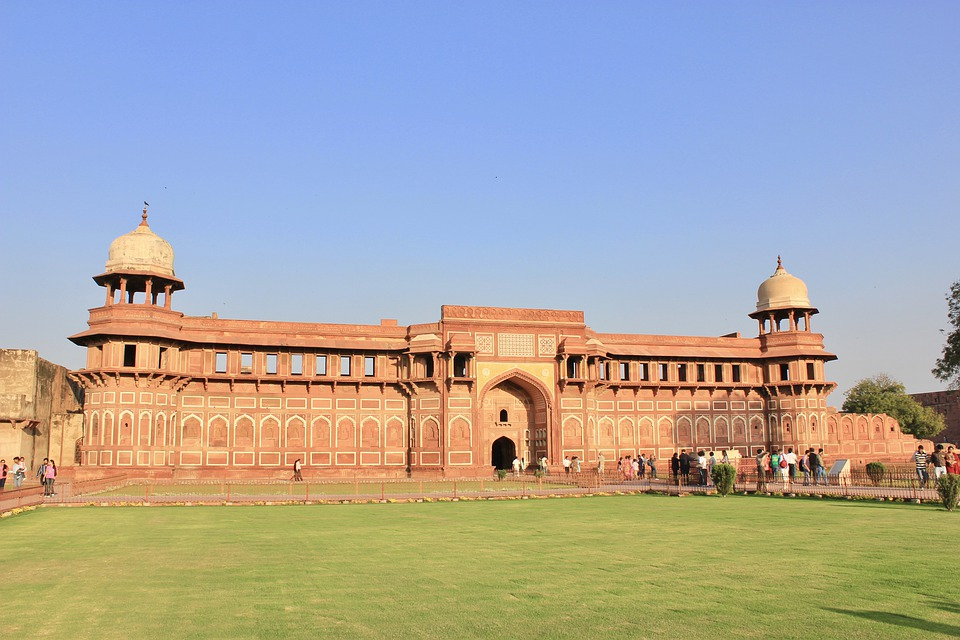 Agra Fort, Fort, Agra, India, Architecture, Travel