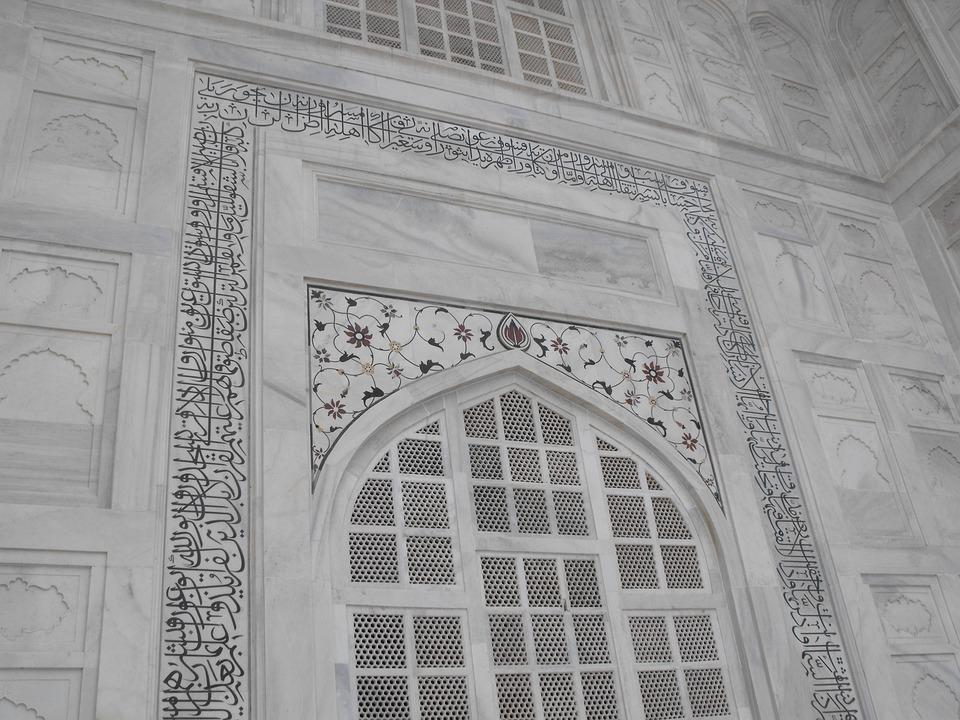 Taj Mahal, Marble, India, Agra, Taj, Mahal