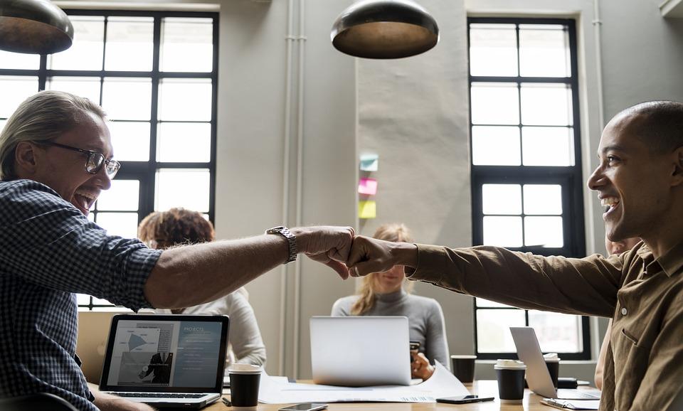 Achievement, Agreement, Arms, Bump, Collaboration