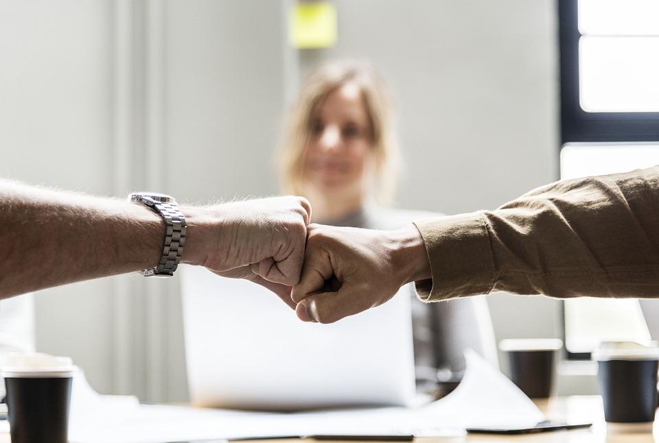 Achievement, Agreement, Bump, Business, Colleagues