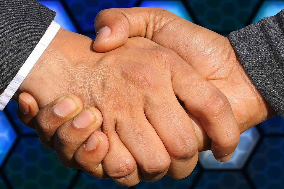 Handshake, Business, Agreement, Deal, Cooperation, Team