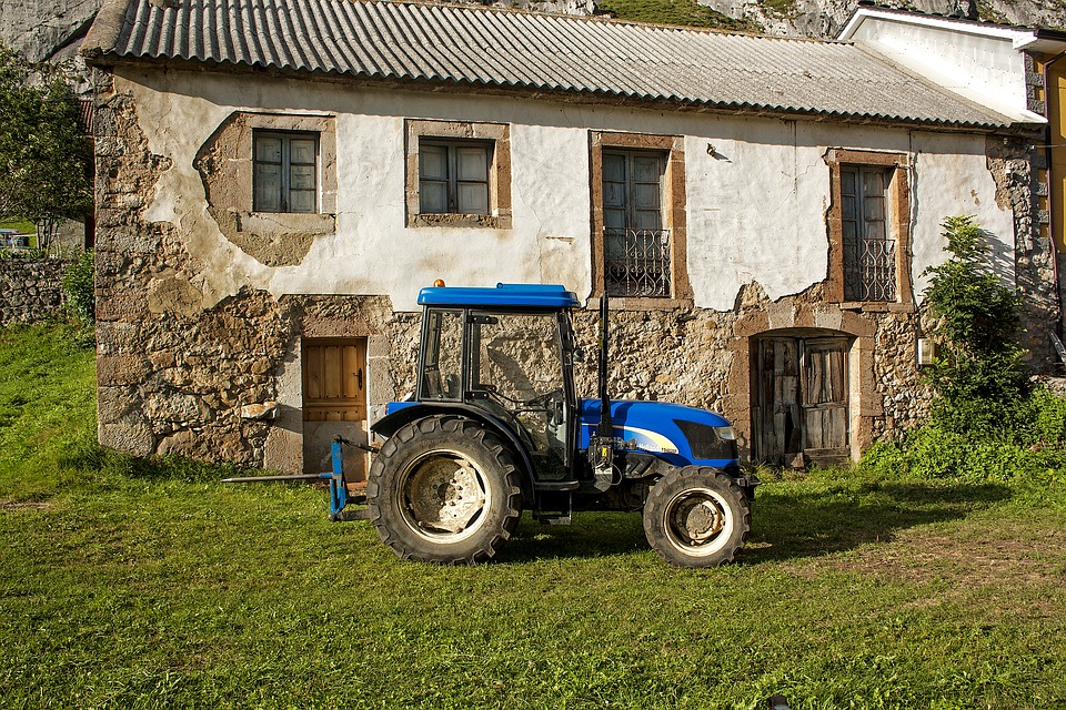 Tractor, Rural, Farm, Harvest, Agricultural, Rustic