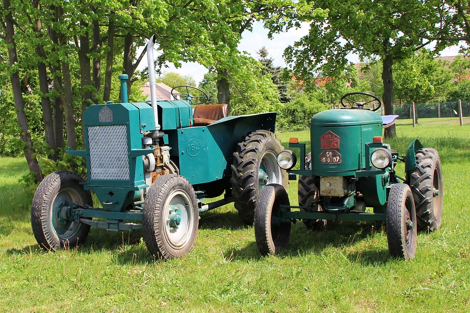 Agricultural Tractor, Tractors, Agriculture, Oldtimer
