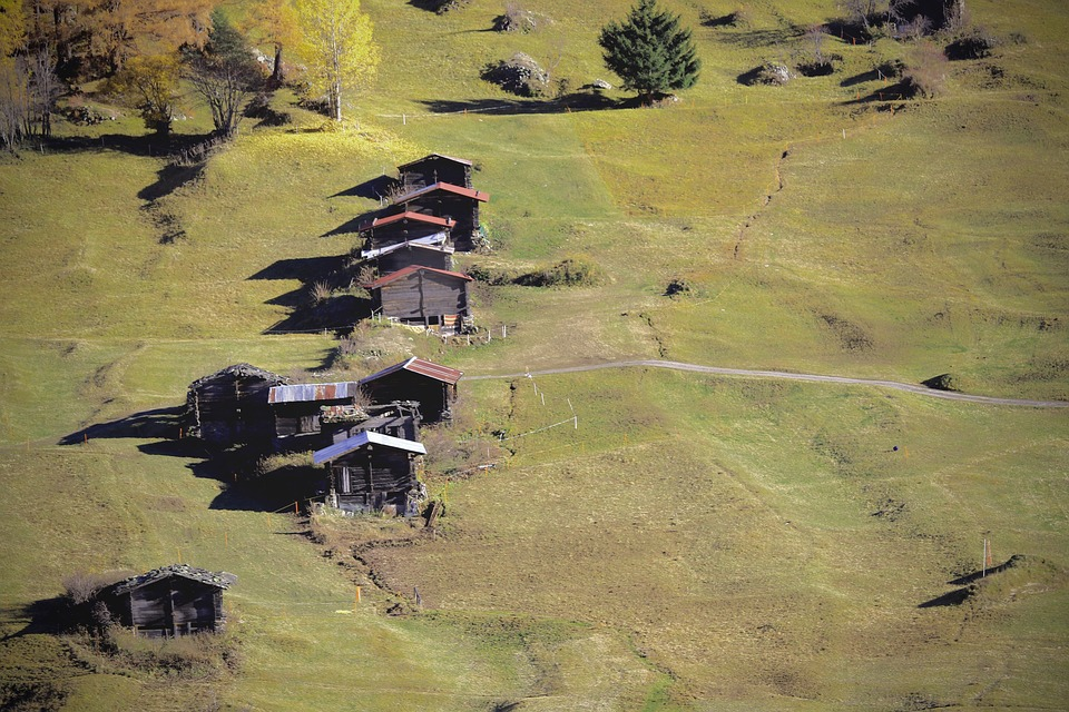 Barn, Alp, Alm, Agriculture, Mountains, Switzerland