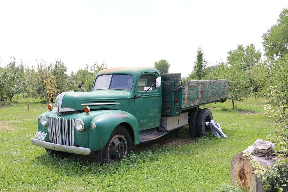 Truck, Farm, Agriculture, Vehicle, Rural, Farming