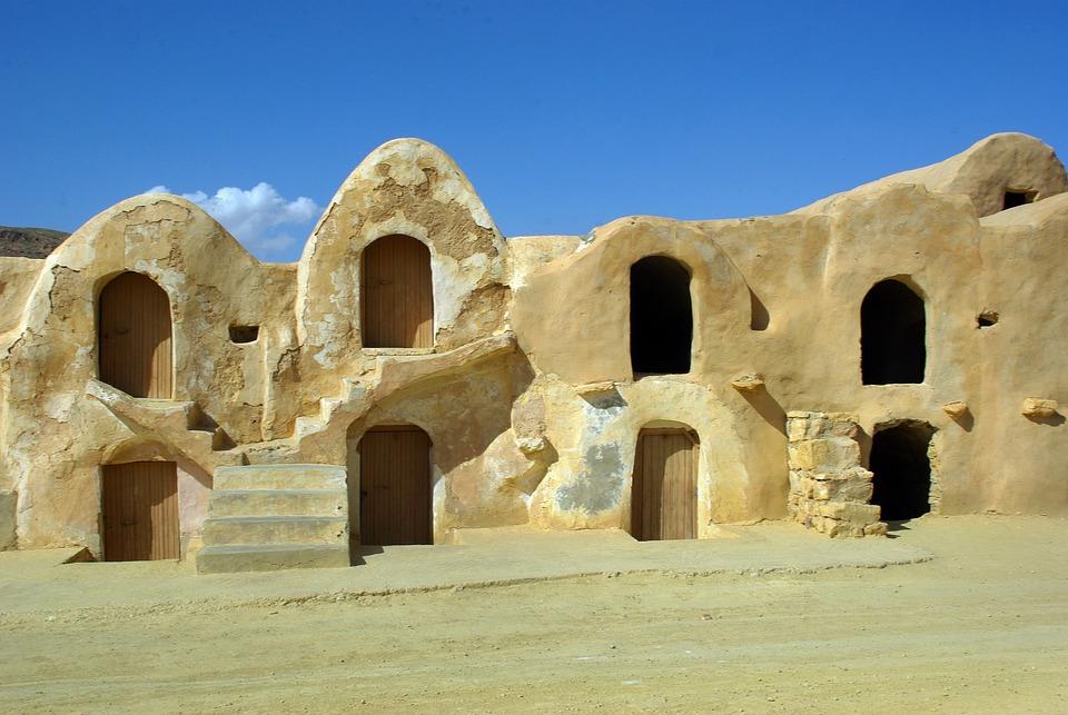 Tunisia, Silo, Grain Silos, Agriculture, Storage
