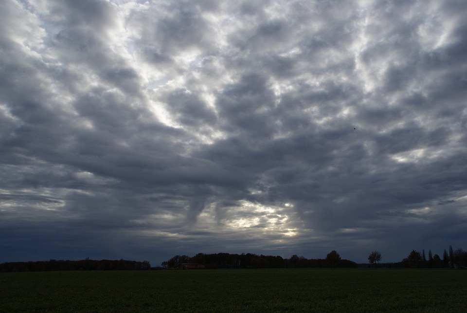 Weather, Sky, Clouds, Sun, Agriculture, Edemissen, Out