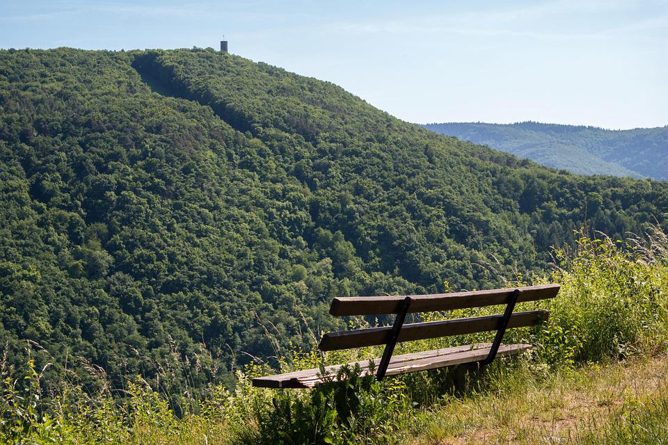Bank, Castle, Viewpoint, Ahr Valley, Castle Kraus