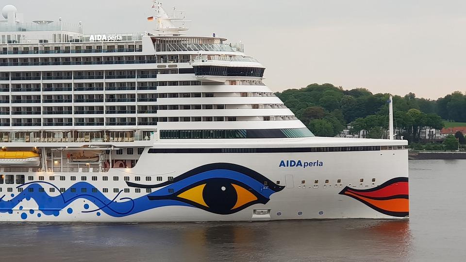 Aidaperla, Aida, Cruise Ship, Cruise, Waters, Ship