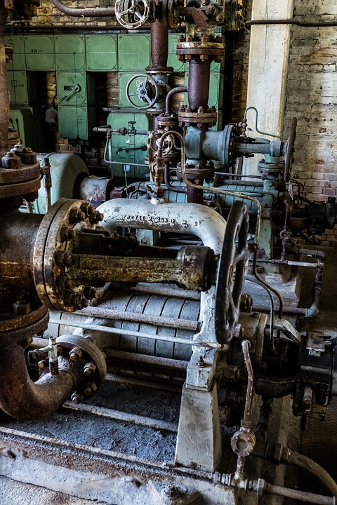 Industrial Plant, Abandoned, Lapsed, Ailing