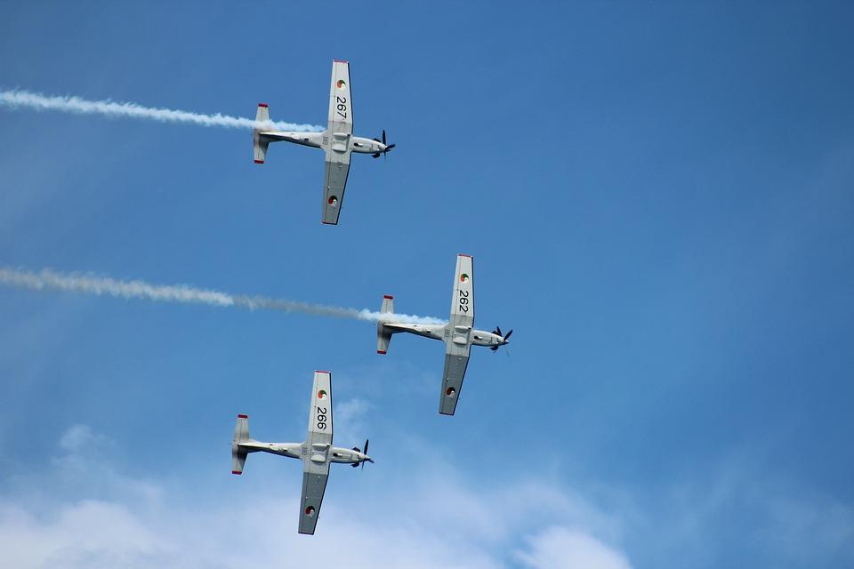 Airshow, Display, Team, Irish Air Corps, Trainers, Air