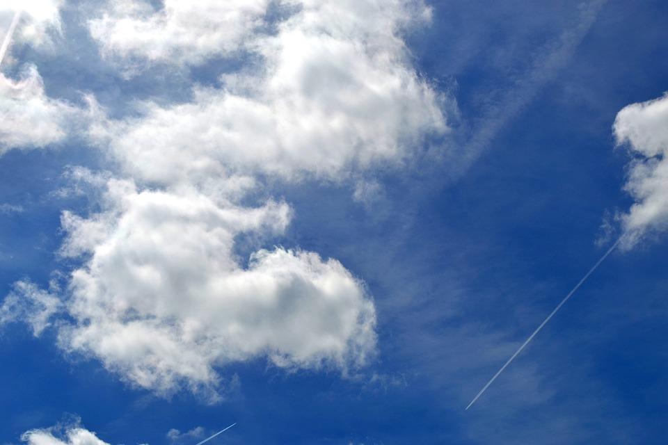 Clouds, Weather, Atmosphere, Air, Summer, Sky, Blue