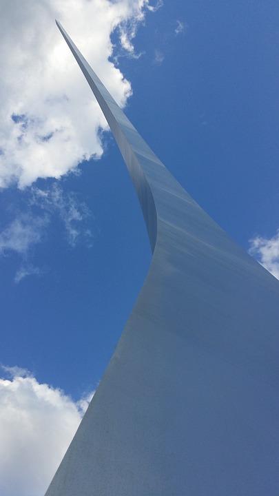 Air Force Memorial, Washington Dc, C, Memorial, Blue