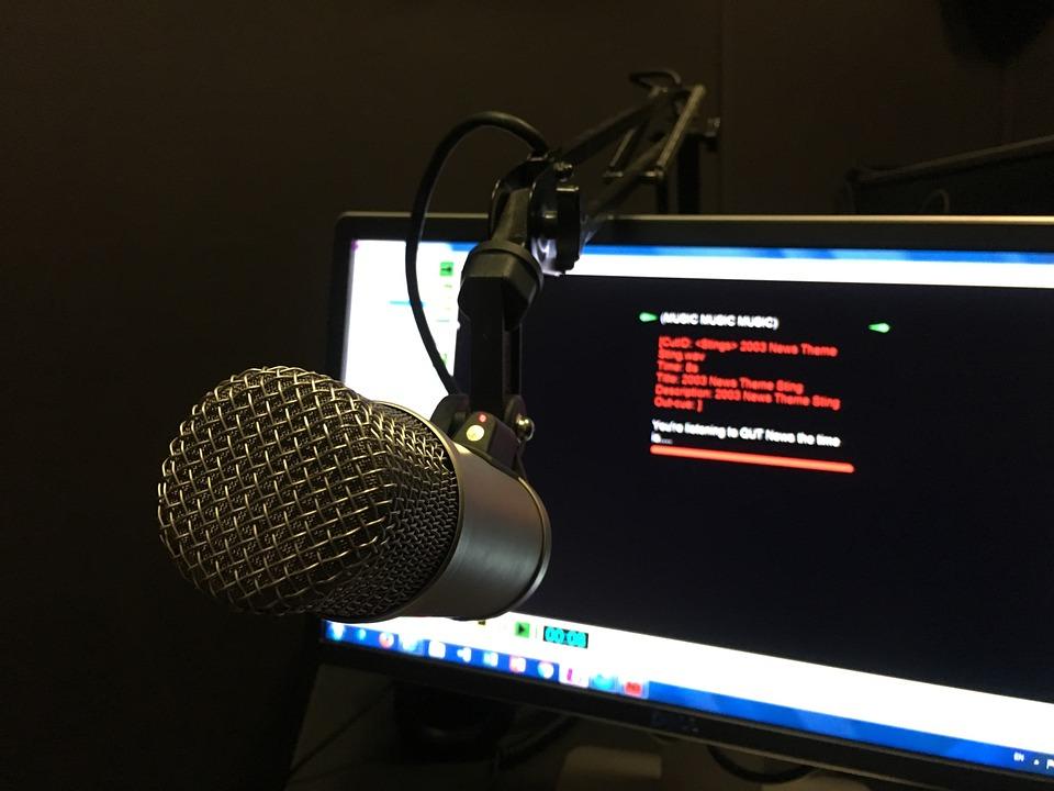 Radio, On Air, Microphone, Air, Broadcast, Music