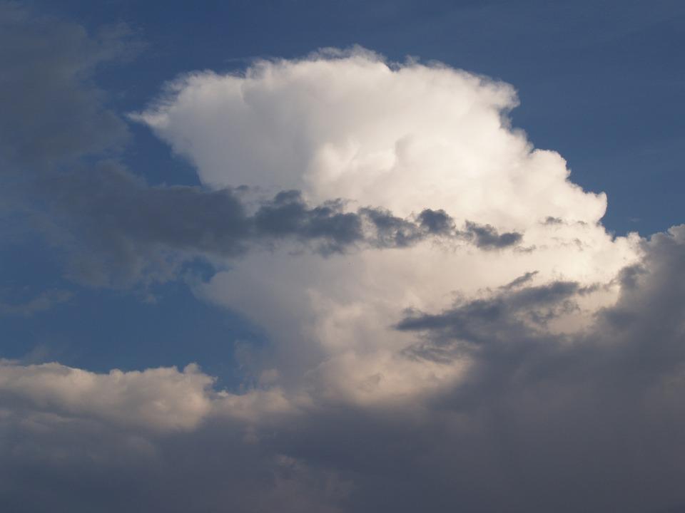 Blue Sky, Clouds, Air, Blue, Nature