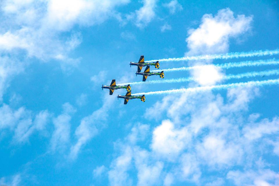 Aviation, Plane, Aeronautics, Blue Sky, Air, Sky