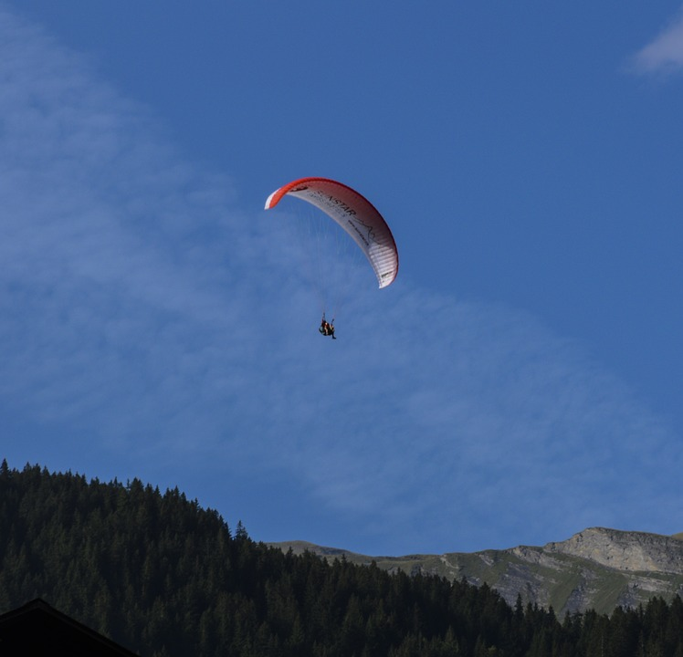 Paragliding, Airy, Flying, Paraglider, Sky, Air Sports