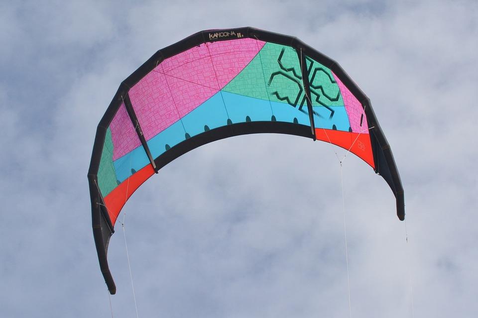 Kite, Air, Clouds, Wind Kite
