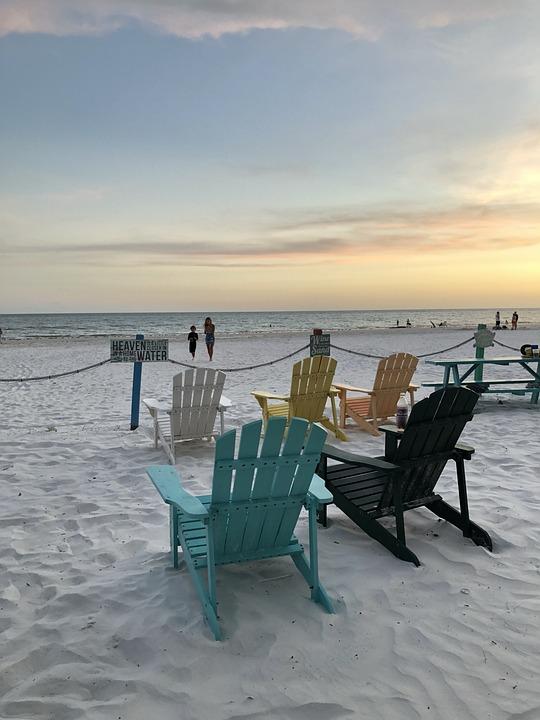 The Beach, Beach Chairs, Aircondiack Chairs