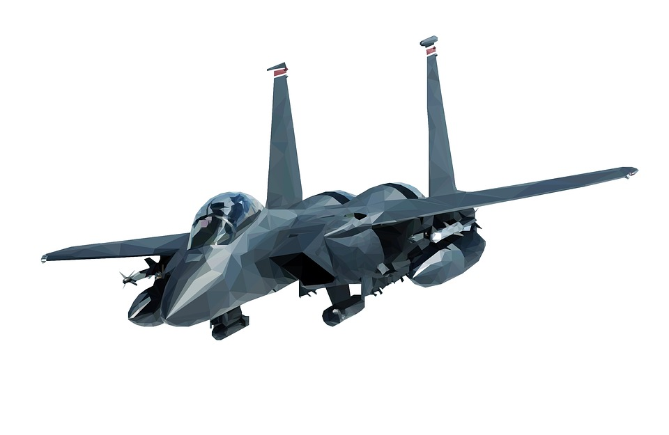 F-15, Fighter, A, Jet, Airplane, Plane, Aircraft