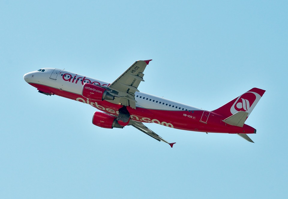 Airbus A320, Air Berlin, Aircraft, Fly, Flyer, Sky