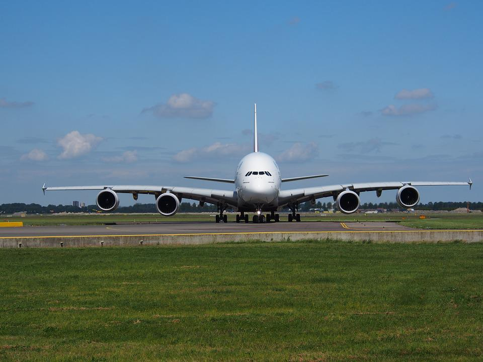 Emirates, Airbus A380, Aircraft, Plane, Airplane