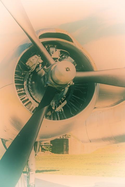 Propeller, Aircraft, Airplane, Airplane Propeller