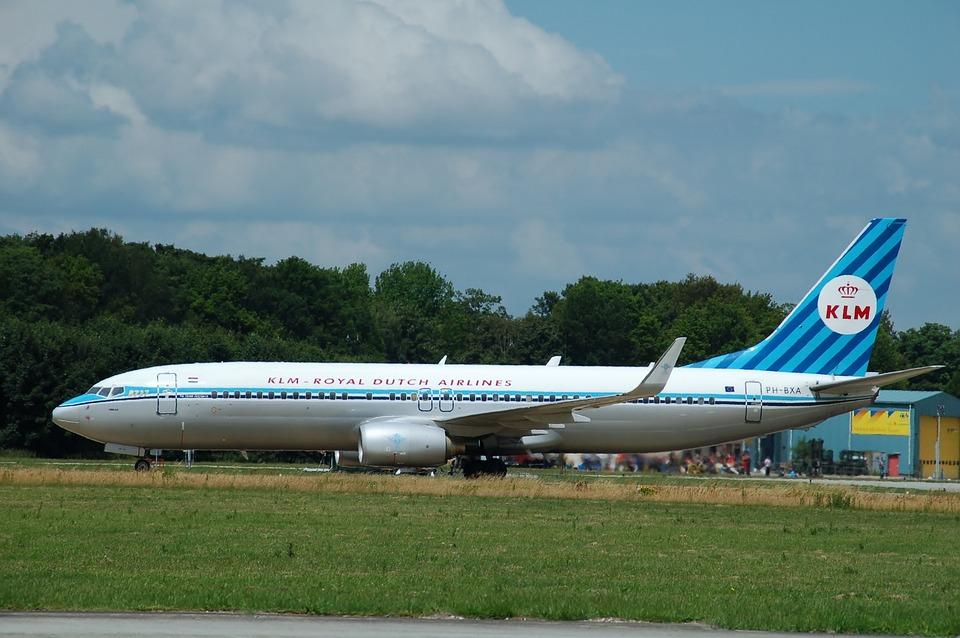 Plane, Aircraft, Klm, Airshow, Volkel, Airline, Runway