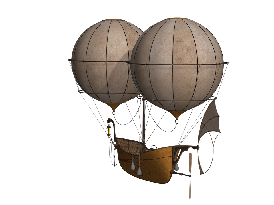 Hot Air Balloon, Aircraft, Balloon, Airship, Float