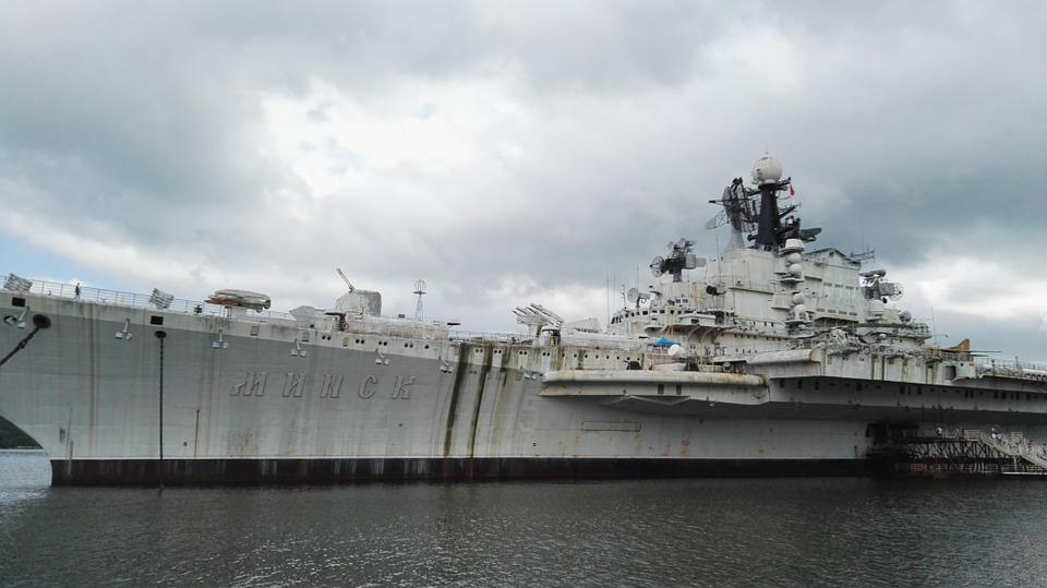 Shenzhen, Aircraft Carrier, Ship, Minsk, Military Ship