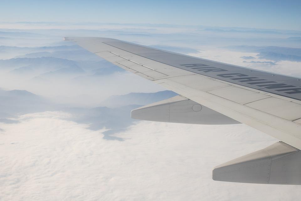 Travel, Sky, Nature, Aircraft, China Air, Aviation