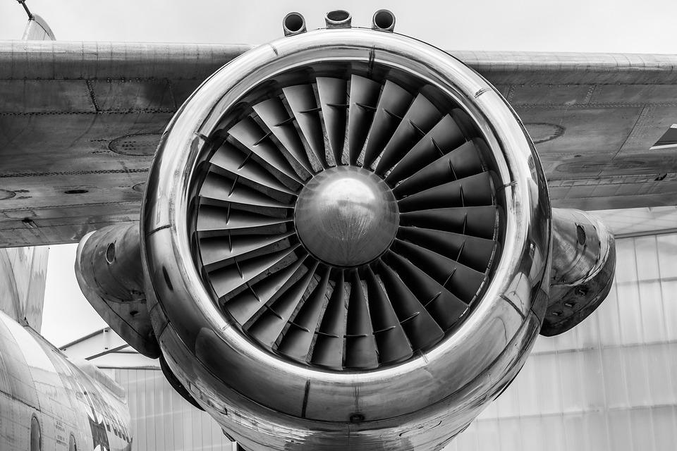Aircraft, Turbine, Engine, Jet Engine, Plane, Airplane