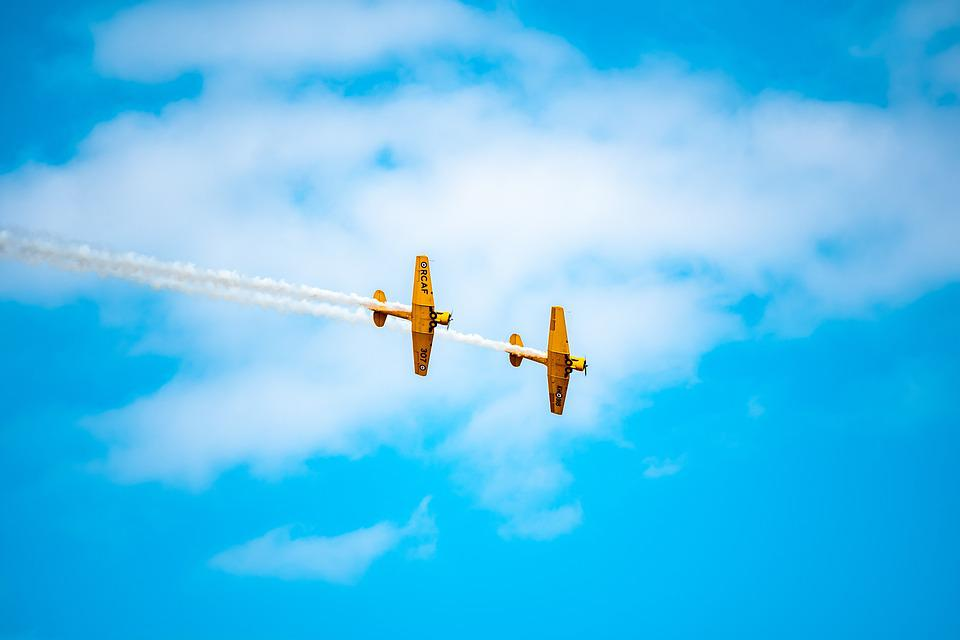 Formation, Aviation, Aircraft, Sky, Flight, Airplane