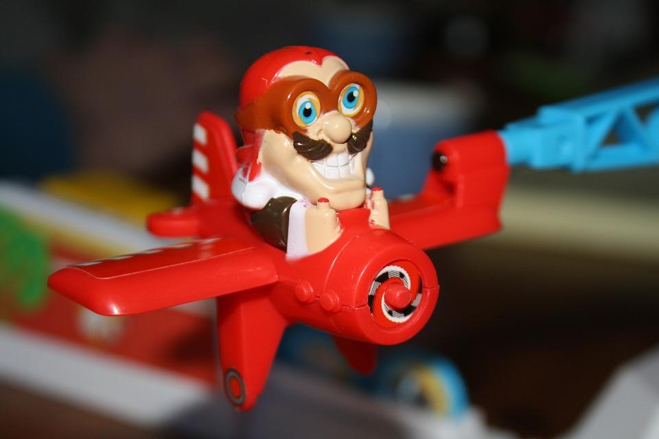 Looping Louie, Aircraft, Flying, Cartoon, Toys