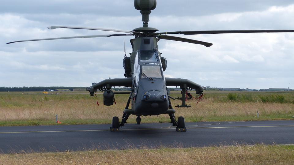 Helicopter, Military, Aircraft