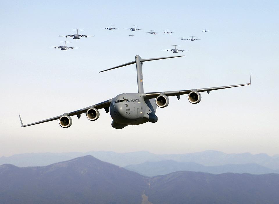 Aircraft, Cargo Aircraft, Cargo, Transport, Military