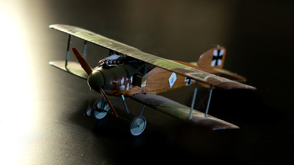 Albatros D, Ii, Model, Aircraft, Double Decker