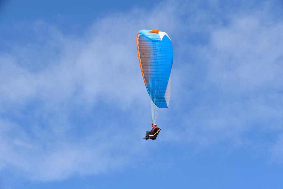 Paragliding, Paraglider, Fly, Aircraft, Nature, Wind