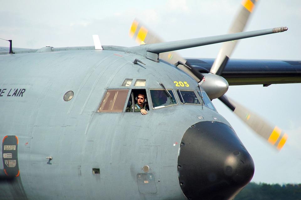 Plane, Aircraft, Wiek, Propeller Military Branch