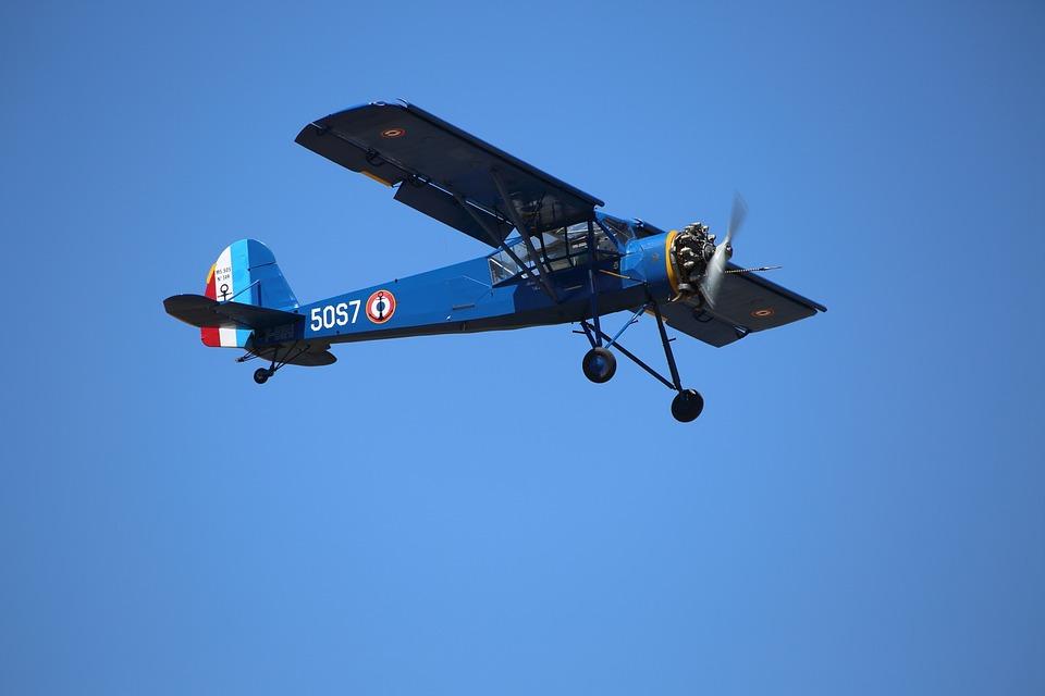 Aircraft, Plane, Small, Sky, Show