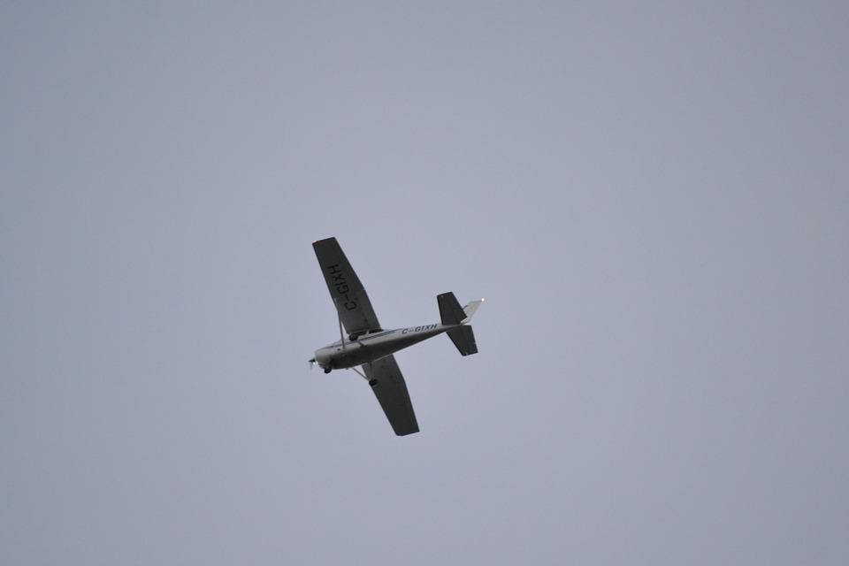 Aircraft, Grey Sky, Small Plane