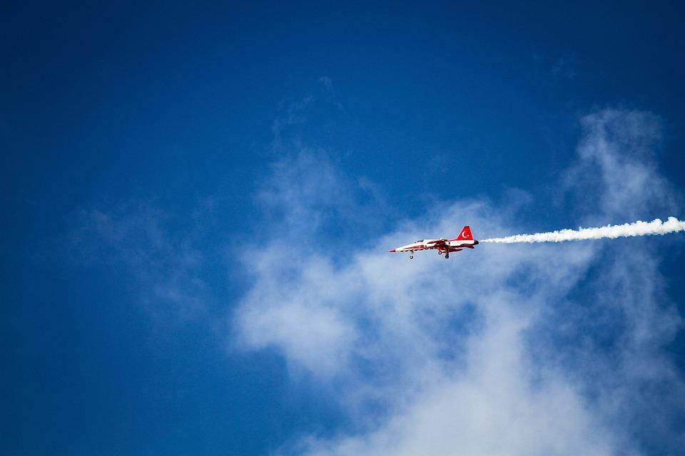 Airplane, Aircraft, Smoke, Flying, Flight, Jet, Glider