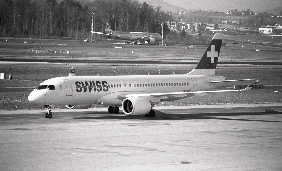 Swiss, Switzerland, Bomber, Aircraft, Flight, Zurich