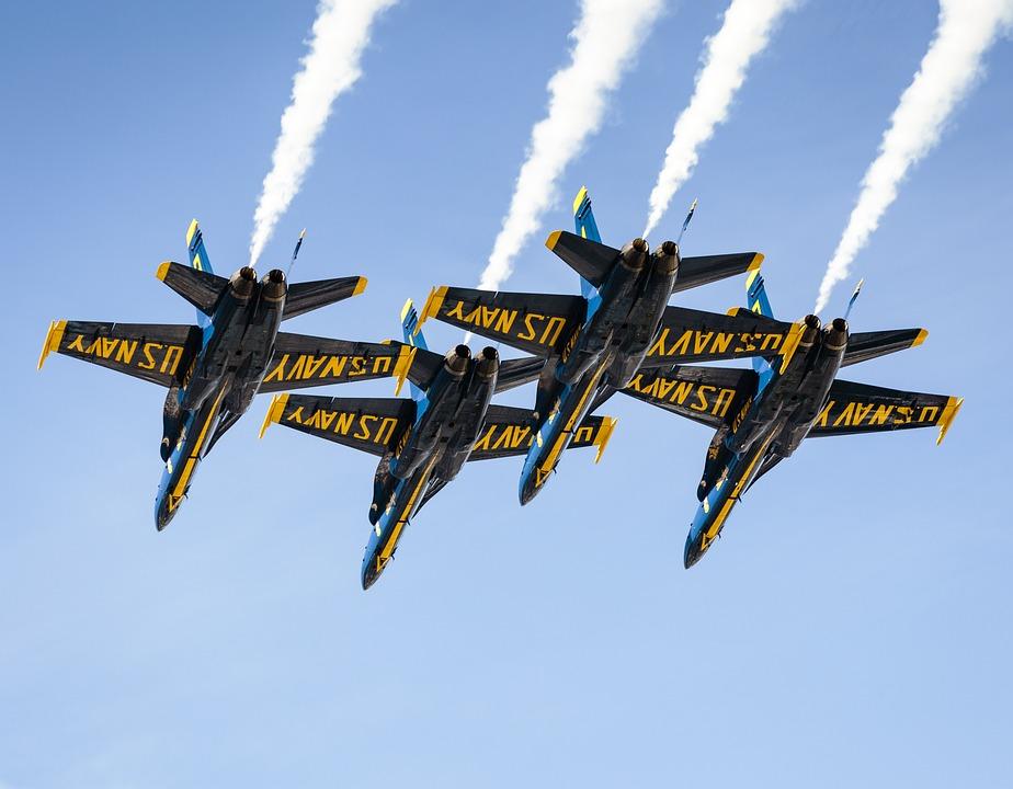 Free photo Aircrafts Airplanes Flight Air Force Aerobatics