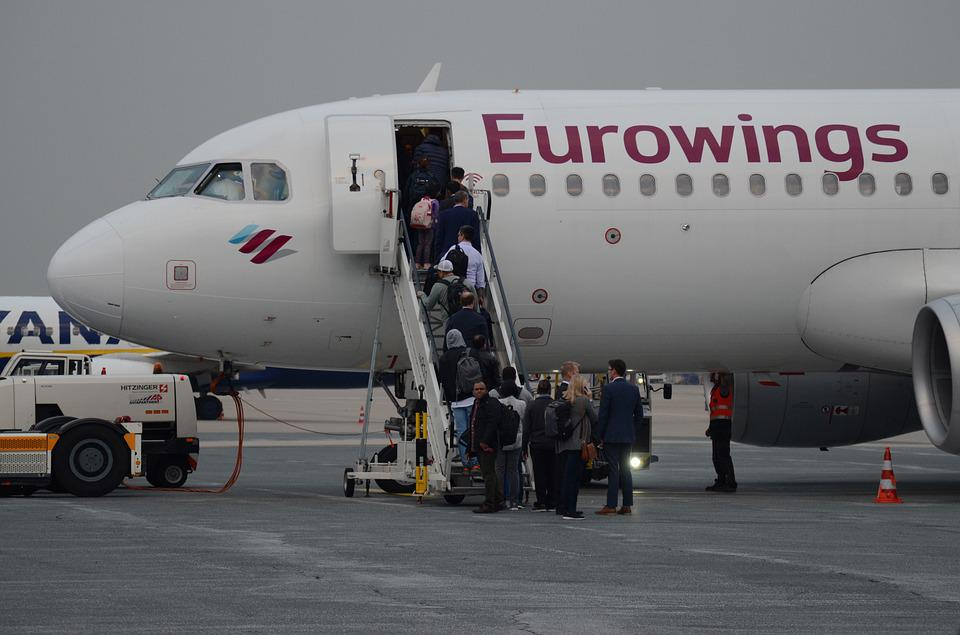 Aircraft, Eurowings, Airliner, Airport, Flyer